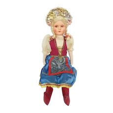 Vintage Hungarian Doll from 1939 Worlds Fair in New York