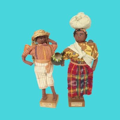 Vintage Guatemalan Dolls