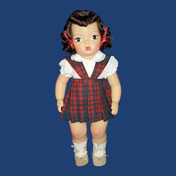 """Beautiful 1950s 16"""" Terri Lee doll + tagged outfit"""