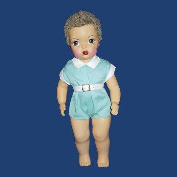 "1950's 16"" Terri Lee Jerri Lee 16"" doll in Jerri Lee romper"