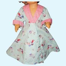 """Vintage 16"""" Terri Lee doll robe and elf slippers"""