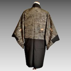 Pre-WWII Japanese Army Kimono Haori, Military Mens Uniform, Trench Art