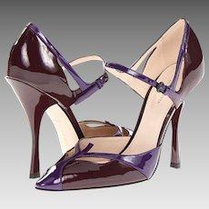 Italian Bottega Veneta Ladies Shoes, High Heel D'Orsay with Box and Dust bag