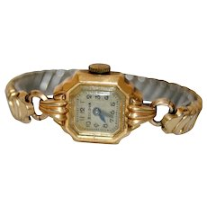 Collectors Watch BULOVA 10k Gold-filled 1960s Bracelet Wristwatch