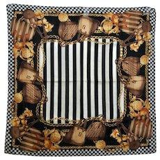 Fendi Iconic Bags Designer Scarf