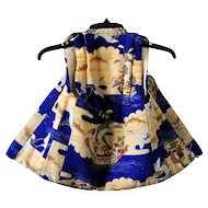 Japanese Silk Kimono Vest for Children, Traditional Asian Clothing