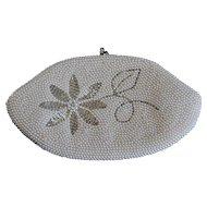 Japanese Handmade Pearl Clutch, Wedding Bag