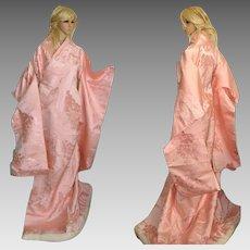 Yoko Japanese Kimono Uchikake Silk Robe
