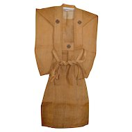 Japan Meiji Samurai War Kamishimo Hemp Outfit 1915