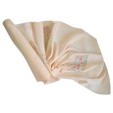 Rinzu Silk Kimono Fabric 6 yards