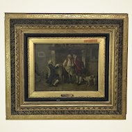 Original Oil on Canvas by Louis Georges Brillouin (1817-1893)