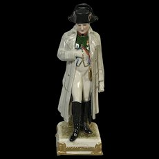 Scheibe Alsbach Porcelain Figurine of Napoleon Hand Painted