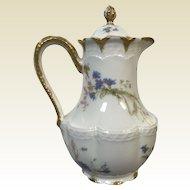 Fine Haviland Limoges Tea Chocolate Pot