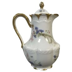 Fine Haviland Limoges Tea Chocolate Pot