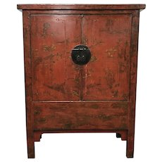 Antique Chinese Lacquered Cabinet