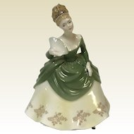 "Royal Doulton England china ""Soiree"" 7&3/4""statue"