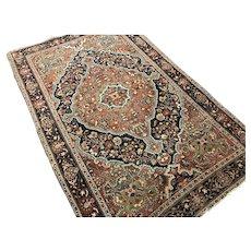 """Antique Persian Farahan Sarouk 54"""" x 84"""""""