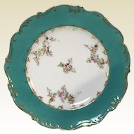 "Set of 17 Old Paris Porcelain 8.75"" Luncheon Plates"