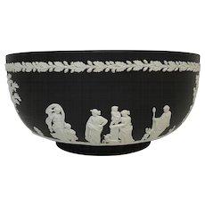 Wedgwood Black Basalt Jasper Ware Bowl