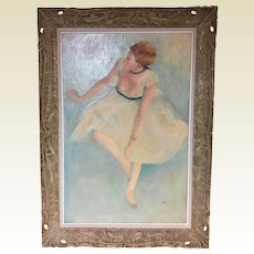 Circa 1930's In the Manner of French Impressionist Edgar Degas Signed