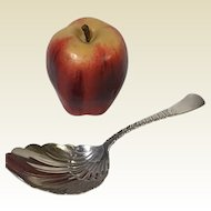 """Gorham Sterling Colonial Pattern Shell Form Serving Spoon 8.75"""""""