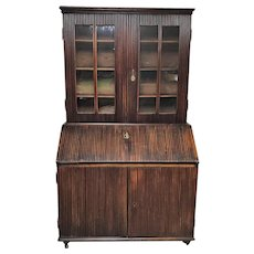 19th Century Continental Slant Front Secretary Desk