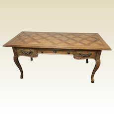 Thomasville French Provincial Three Drawer Writing Desk