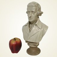 "Plaster Bust Figure of Joseph Haydn Composer Austrian 11.5"""