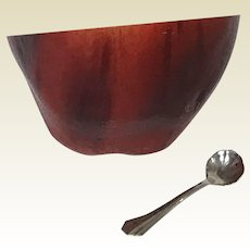 Webster Sterling Salt Spoon Shell Form (4 available)