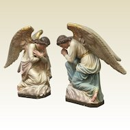 Large 19th Century French Angels