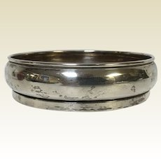 English Sterling Wine Coaster