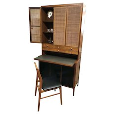 Rare Paul McCobb for H Sacks & Sons Walnut Secretary Desk