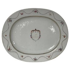 18th Century Chinese Porcelain Export Platter