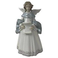 "Retired Vintage Lladro Angel ""Rejoice"" Singing Figurine #6321"