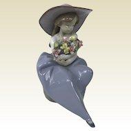 Lladro Figurine Fragrant Bouquet #5862