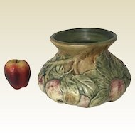 Large Arts & Craft Weller Art Pottery Apple Tree Vase