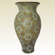 19th Century Doulton & Slaters Flower Vase