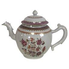 Antique 18th Century Chinese Export Teapot
