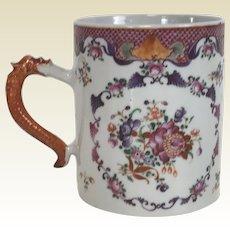Antique 18th C Chinese Porcelain Export Mug