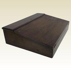 Good 19th Century Mahogany Lap Writing Desk Box