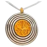 "O God you  are MY FORTRESS."" (Psl. 59:9)   Leehee Pendant"