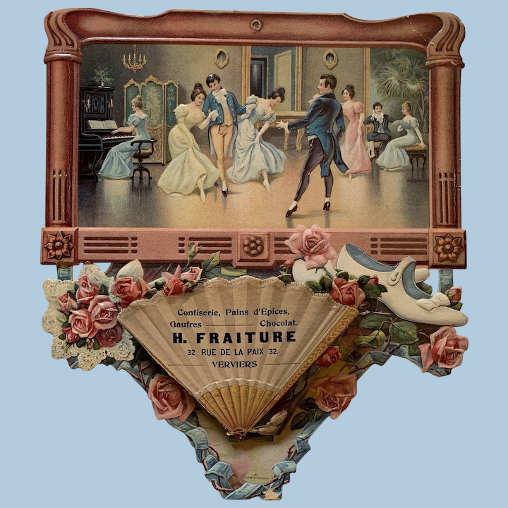 Victorian Authentic Chromolithograph