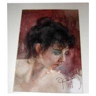 Portrait Watercolor on Paper