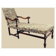French Louis XIII Style Chaise