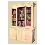 Robust Louis Philippe Bookcase