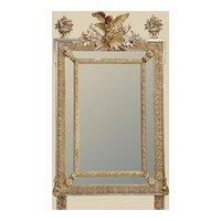 Very Pretty French 19th C. Gold-leaf Mirror