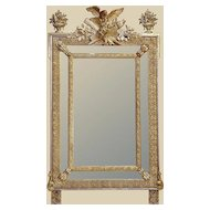 Very Pretty French 19th C. Gold-leaf Mirror