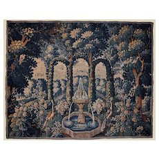 Beautiful French Aubusson Tapestry