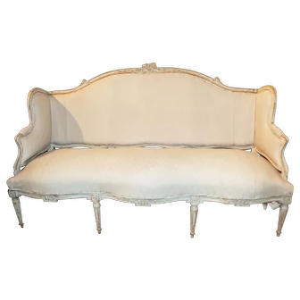 19th Century French Louis XVI Style Settee