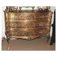 Rich Italian Gilded Commode